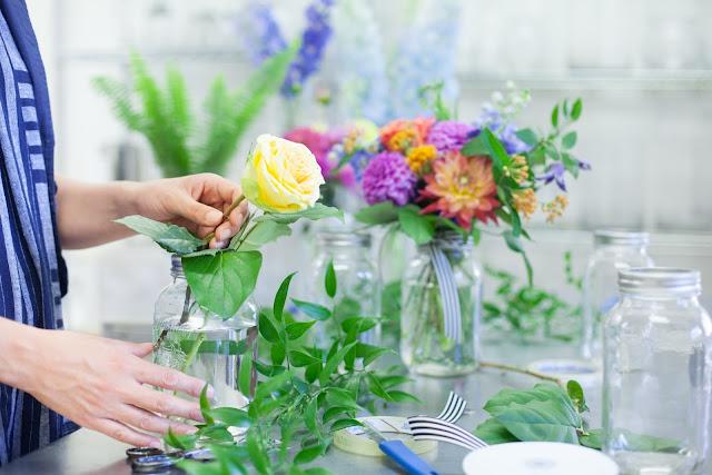 florist jess mcewen at work