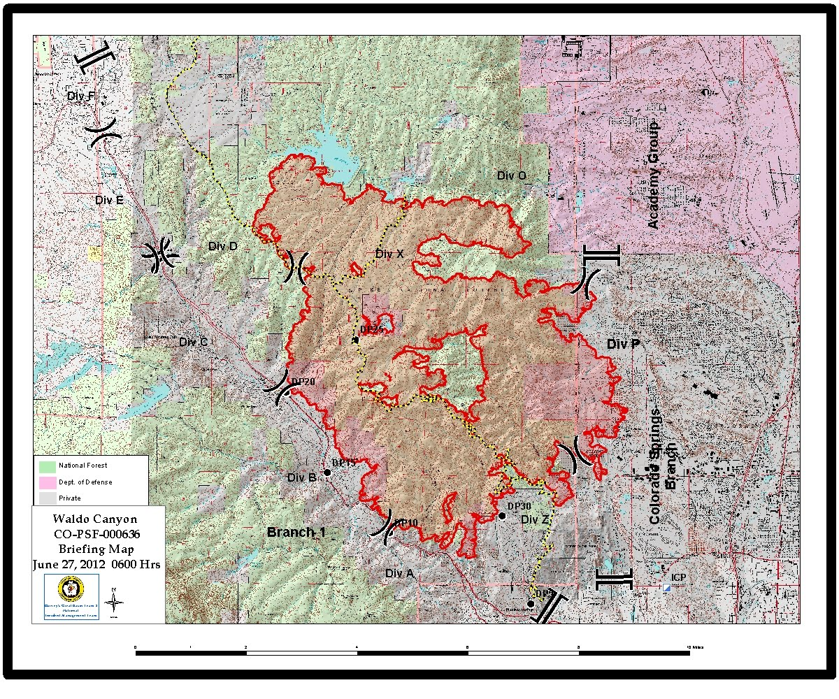 The Richard Randall Show Fire Map As Of Wednesday Night