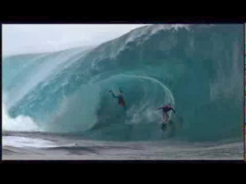 Mark Healey at Teahupoo - 2014 Ride of the Year Entry - Billabong XXL Big Wave Awards