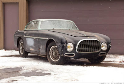 Rusty cars 1953 Ferrari 212 Inter Coupe prices