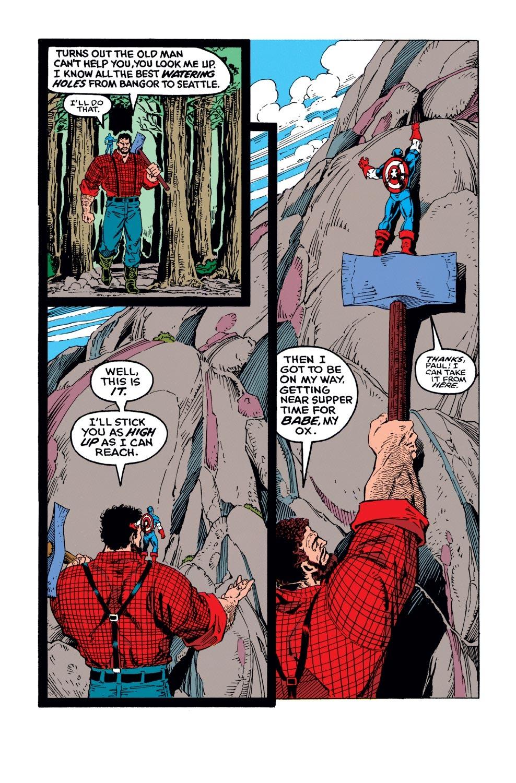 Captain America (1968) Issue #383 #316 - English 17