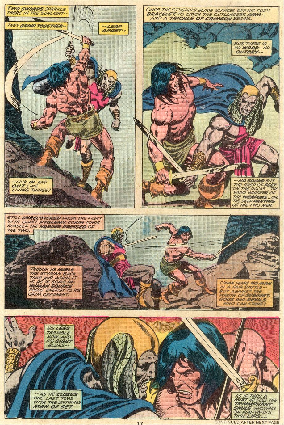 Conan the Barbarian (1970) Issue #81 #93 - English 12
