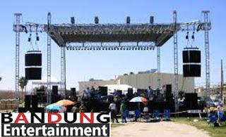 Outdoor Rigging Stage, Panggung band, panggung hiburan