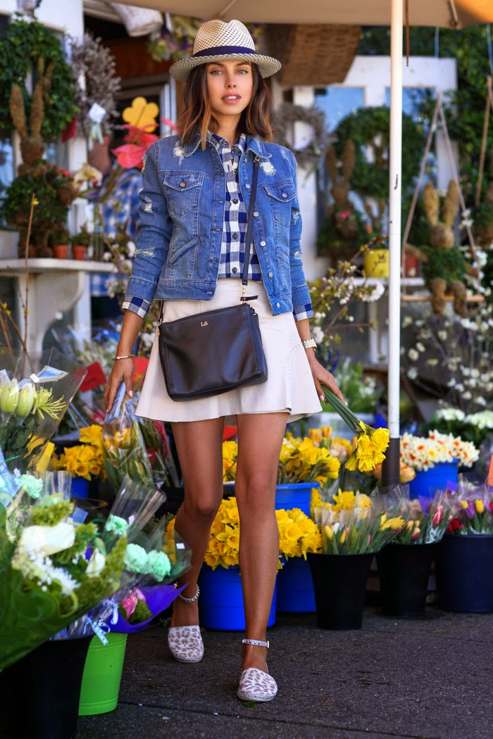 Look primaveril da autora do blog Vivaluxury