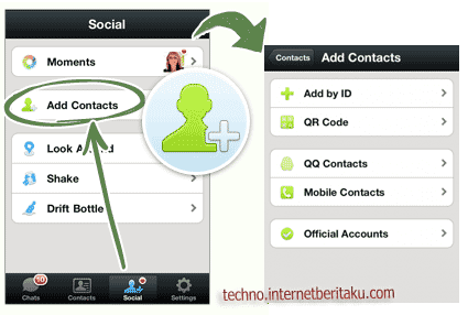 wechat add contacts