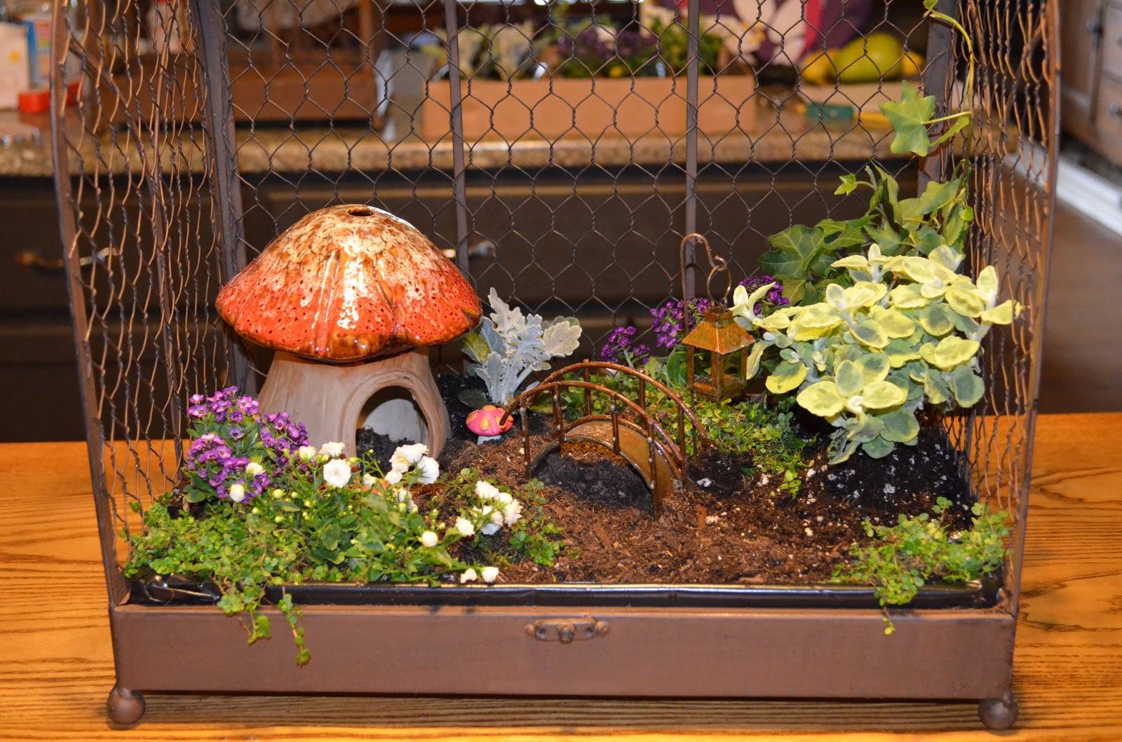 Stamp n Design Indoor Fairy Garden