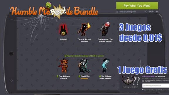 3 Juegos por 1c y otro gratis en el nuevo pack de juegos para Android del Humble Mobile Bundle.