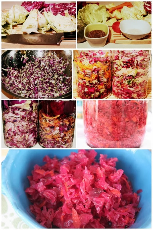 raw fermented vegetables sauerkraut