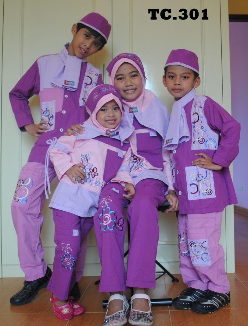 muslim anak poeti collection baju anak muslim poeti kk 501 baju muslim
