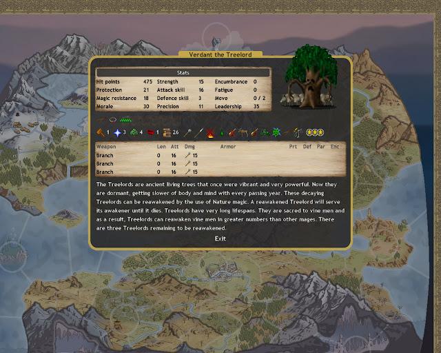 Dominions 4 - Treelord Unit Description