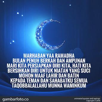 Selamat Menyambut Bulan Suci Ramadan