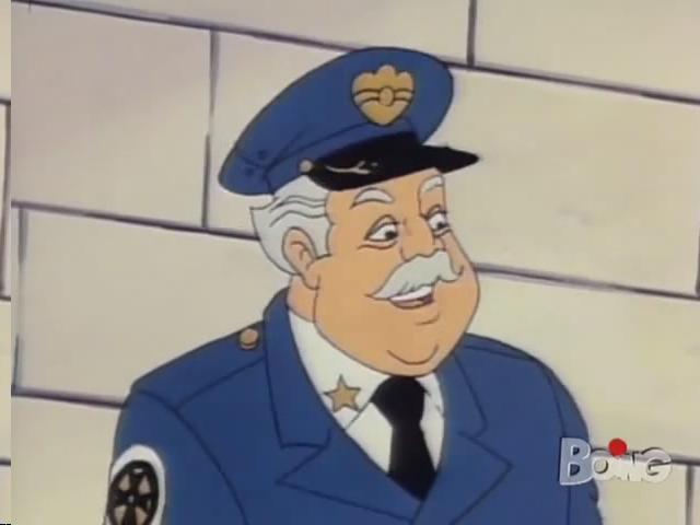 Scuola di polizia serie animata cartone