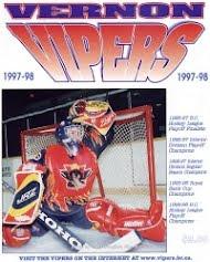 Vernon Vipers 1997-98 Program