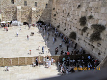 The Wailing or Western Wall, Judaism's Most Sacred Site, Jerusalem (women's section at bottom)