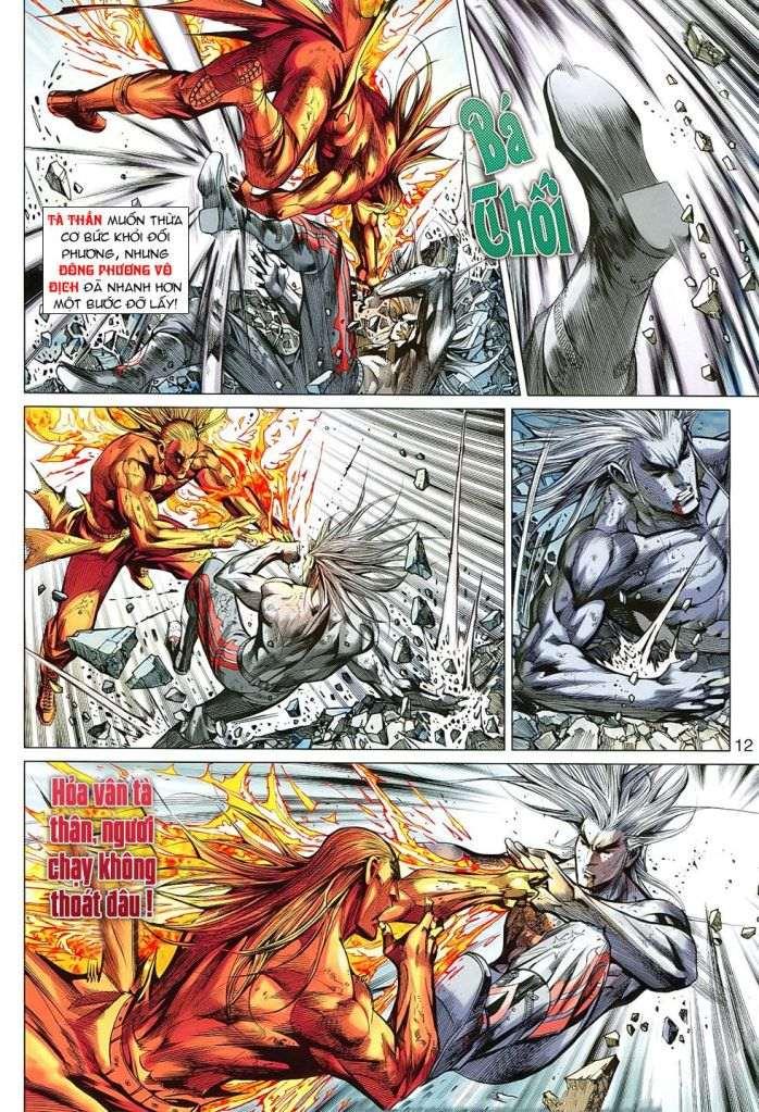 Hoả Vân Tà Thần II chap 99 - Trang 12