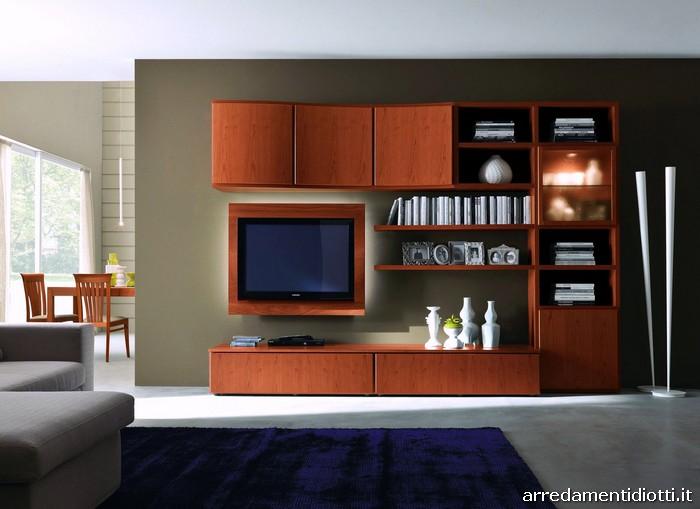 Soggiorni moderni in legno: suggestione ed eleganza tra passato e ...