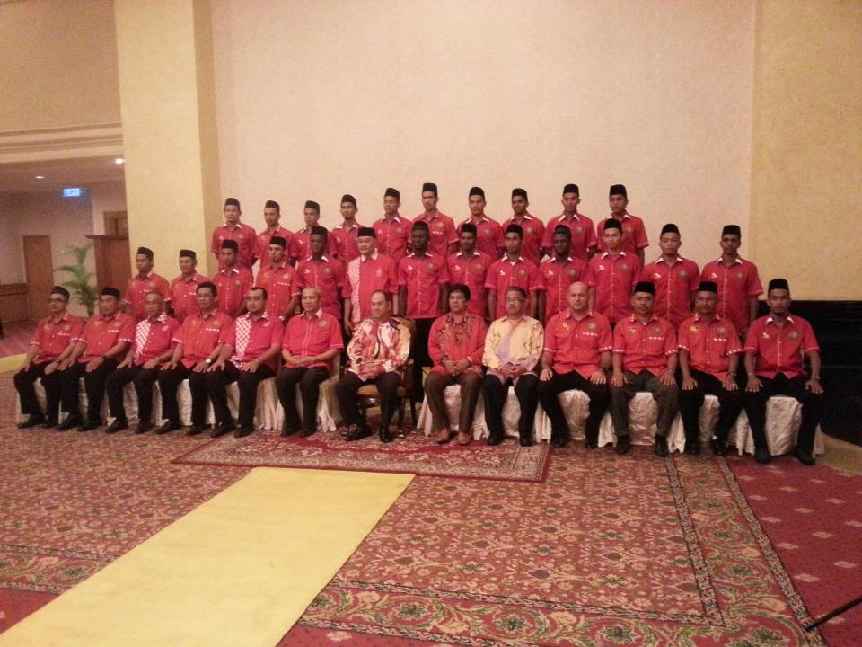 Senarai 30 pemain The Red Warriors musim 2013