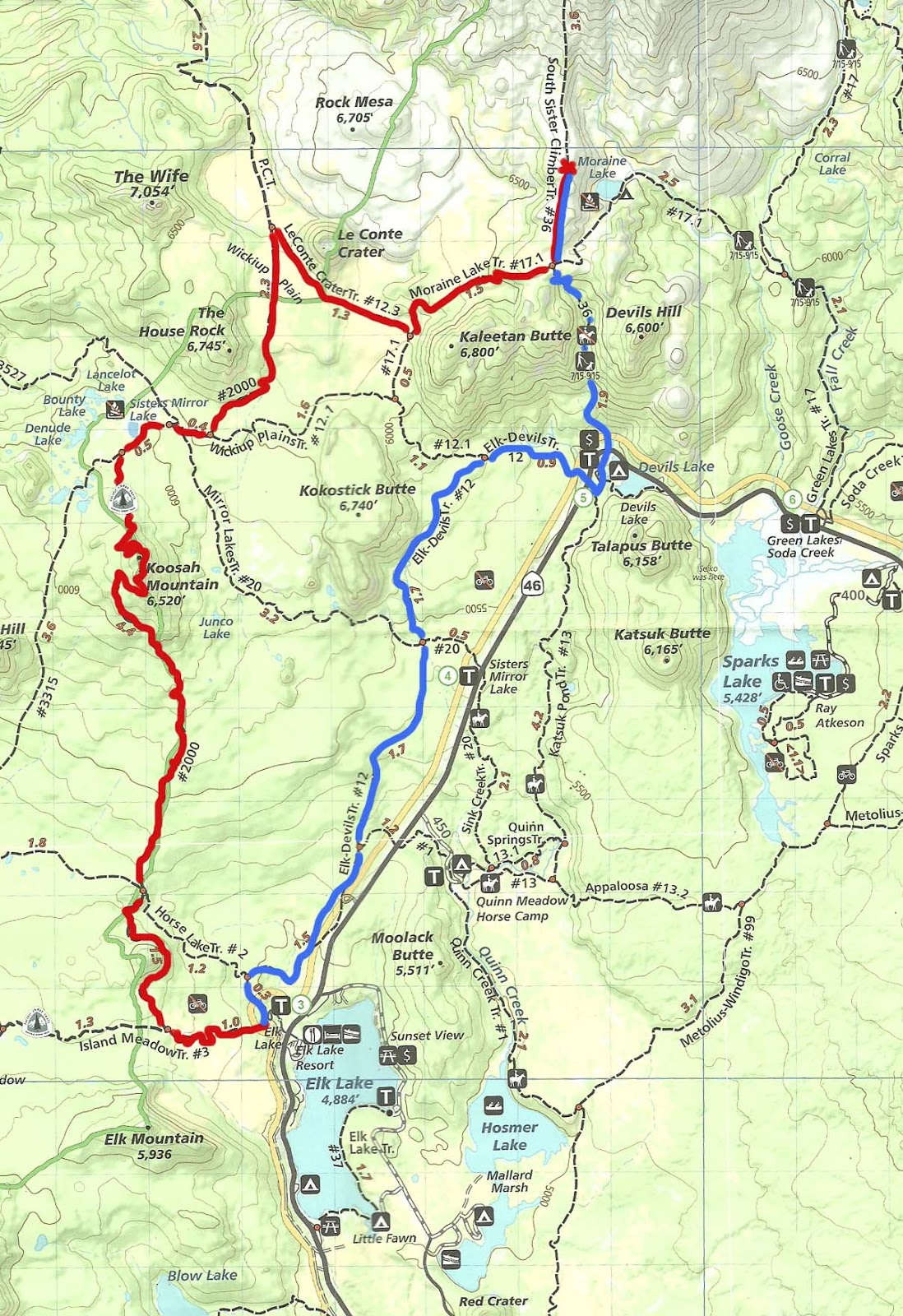pct trail maps with October 11 12 Elk Lake To South Sister on 2016 04 26 30 together with Hiking Big Bear Lake Trinity Alps moreover John Muir Trail Map likewise 3b135917a8d95a29aa77fd47eba2d230 as well 2.