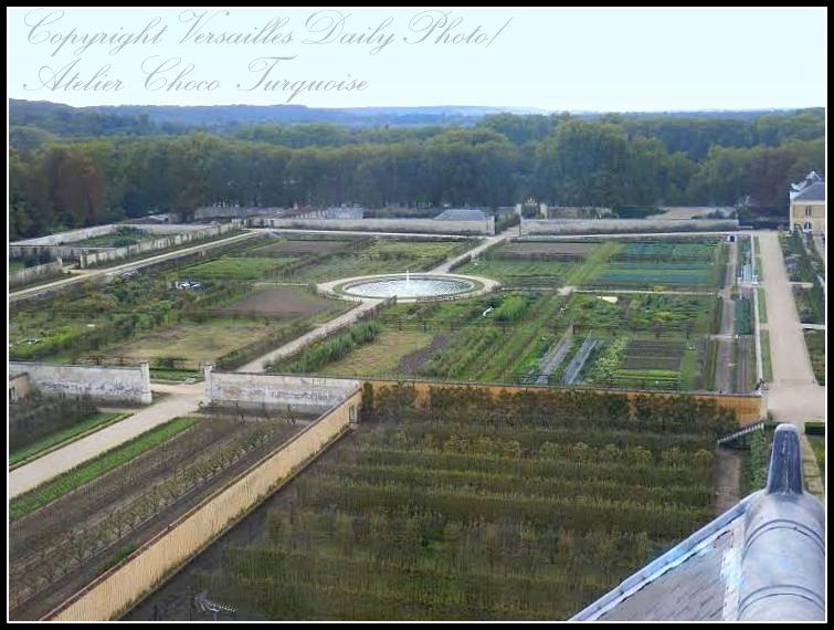 Potager du Roi Versailles King's kitchen garden
