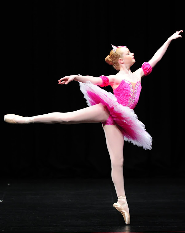Stretch velvet tutu Annie J Ballarat 2012 under 14 classical solo