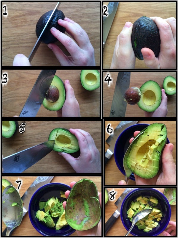 Quick Kitchen Prep Technique: Chopping an Avocado