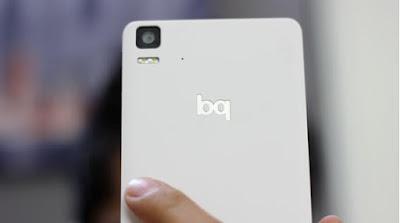 La marca española BQ