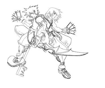 #2 Riku Coloring Page