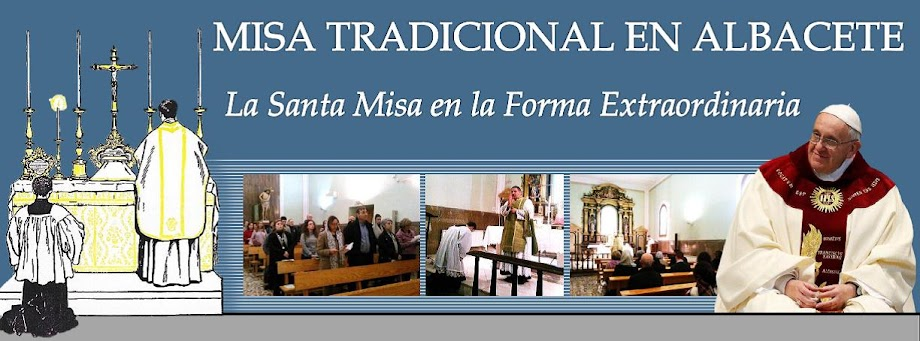 Misa Tridentina en Albacete