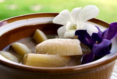 Banana recipe dessert –Banana in coconut milk