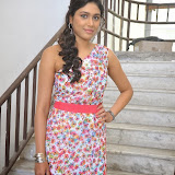 Manisha Yadav Photos in Floral Short Dress at Preminchali Movie Press Meet 39
