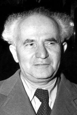 David Ben Goerion in 1947