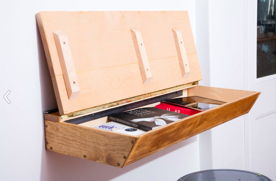 Nursery Notations: Old School Desk for a Modern Space