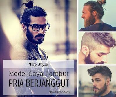 Top model gaya rambut terbaik untuk pria berjanggut