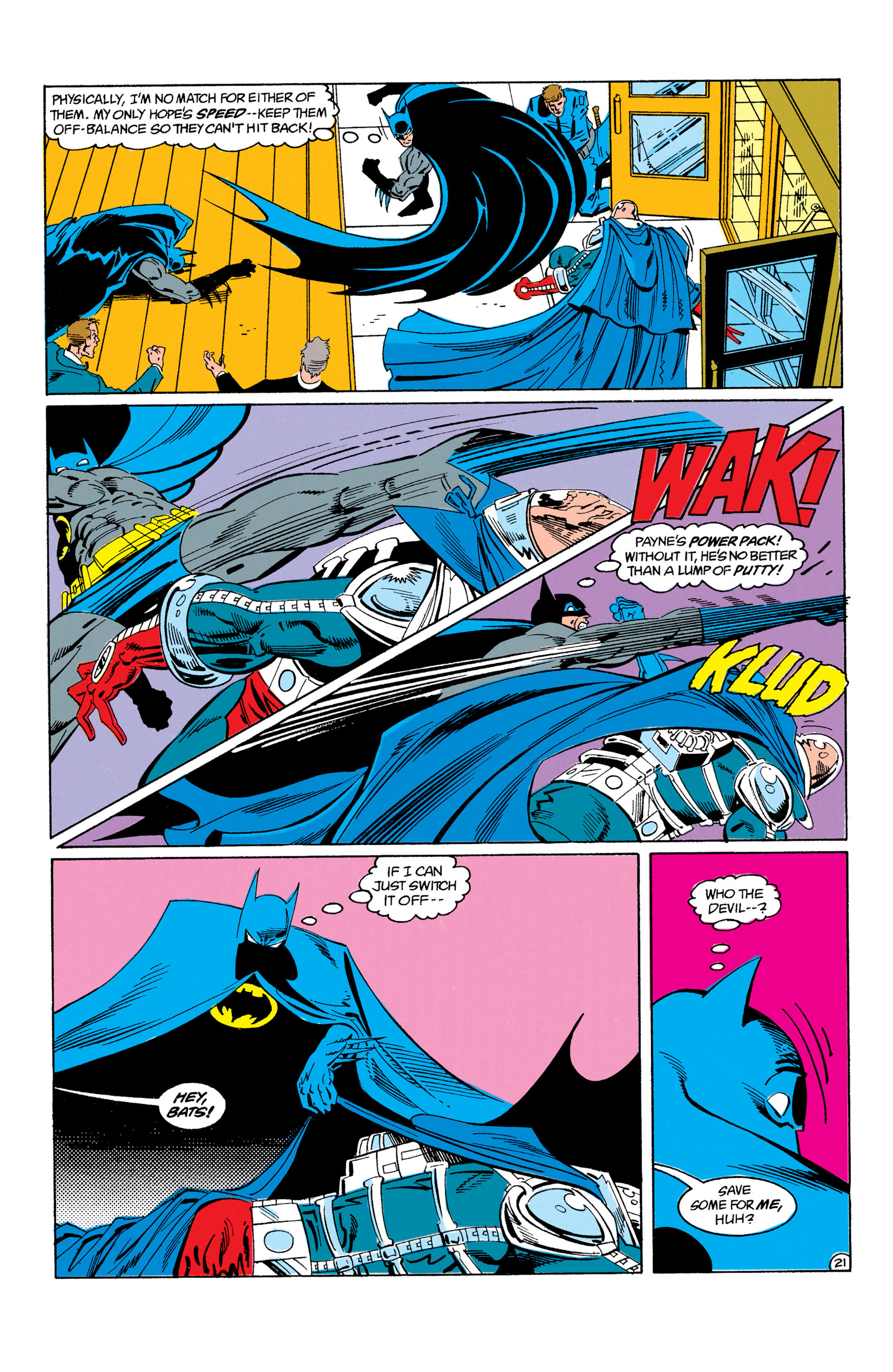 Detective Comics (1937) Issue #605 Page 22