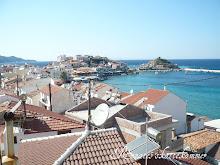 En gresk fiskerlandsby