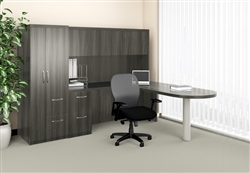 Modern Wall Desk for Corner Office