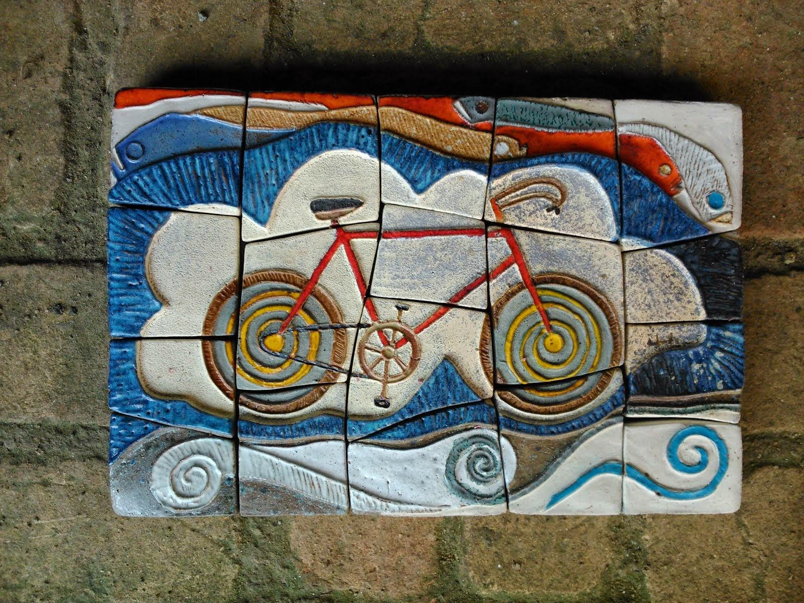 Painel Bicicleta - 0,35m / 0,25m