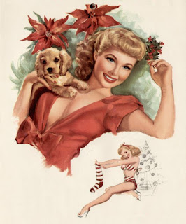 Christmas Beauty Pinup Girls