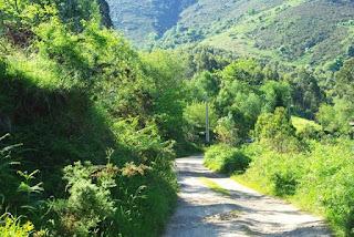 Sierra del Sueve, la Biescona, inicio de la ruta