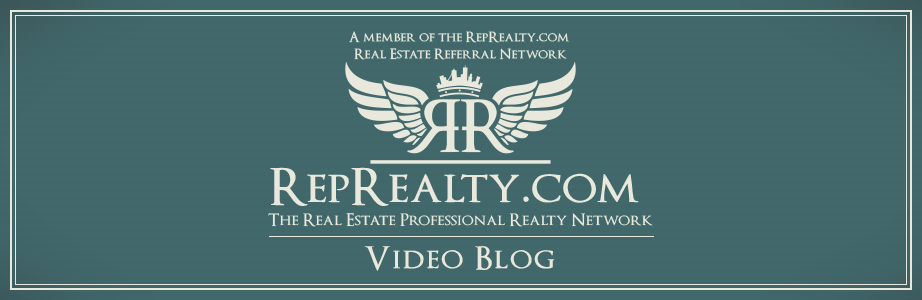 Real Estate Professional Realty Referral Network Video Blog with Cal Carter - RepRealty.com