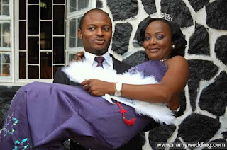 Helen Paul and Husband
