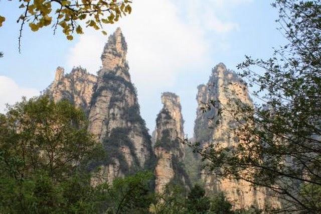 100. Wulingyuan (Zhangjiajie City, China)