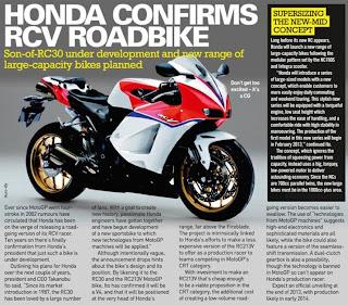 Magazine article - Needless to say Honda has everyone salivating