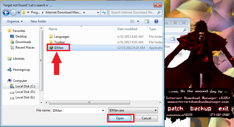 How to patch internet download manager