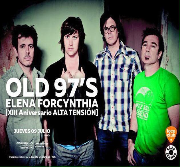 Alta tensión con los OLD 97'S (9-7-2015, Loco Club)