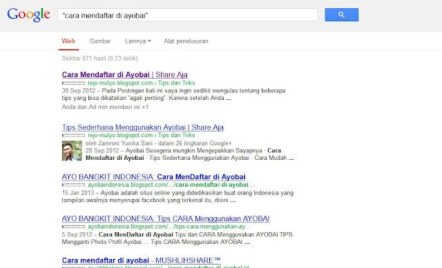 keistimewaan search engine google