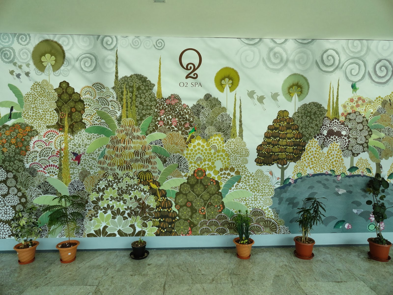 Artistic Inspiration  The Chennai Airport!