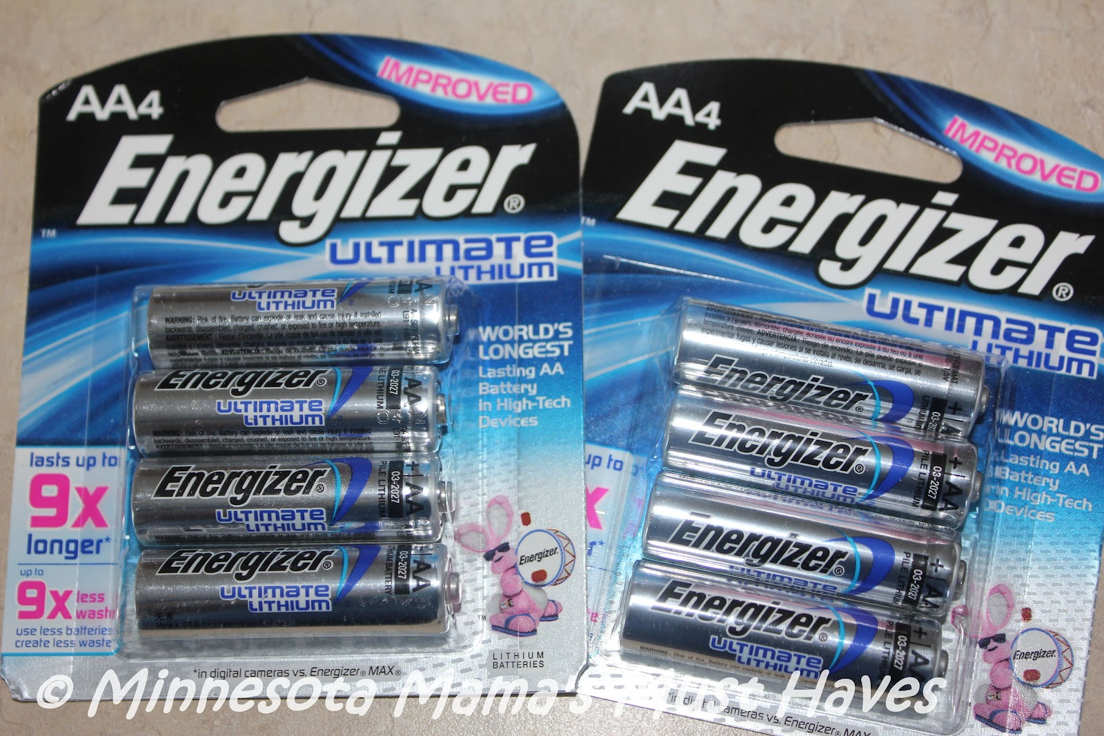 energizer ultimate lithium aa batteries keep your devices. Black Bedroom Furniture Sets. Home Design Ideas