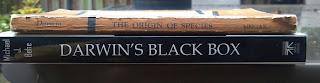 origin of the species and darwin's black box books