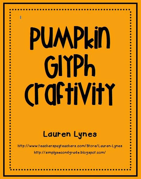 http://www.teacherspayteachers.com/Product/Pumpkin-Glyph-Craftivity-348881